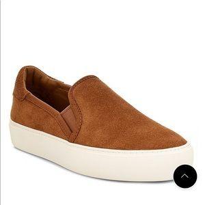 UGG Suede Platform Slip On Shoes Sneakers